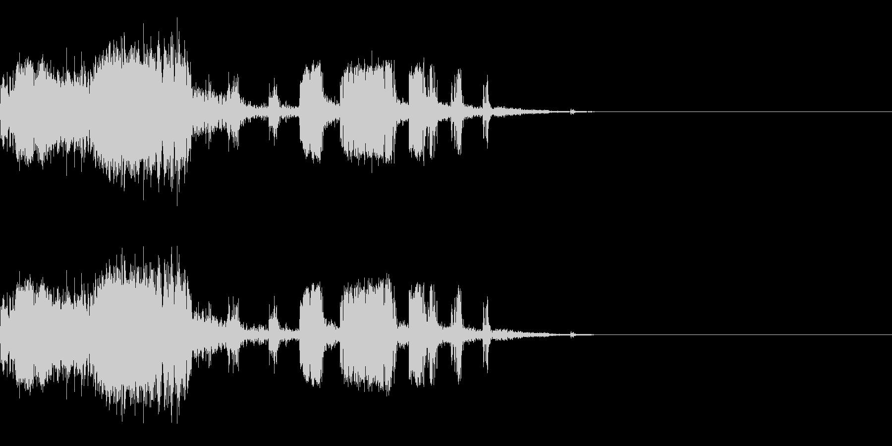 スパーク音-42の未再生の波形