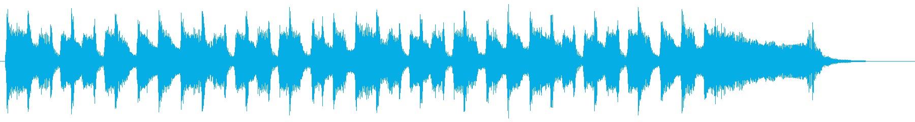 YouTubeの最初のダイジェスト映像にの再生済みの波形