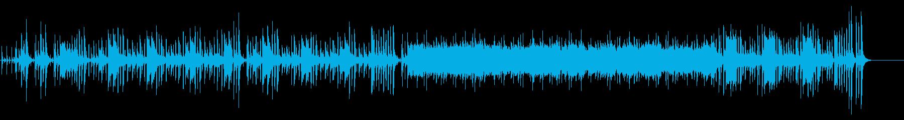 子供のチャチャチャ~楽しい雰囲気のBGMの再生済みの波形