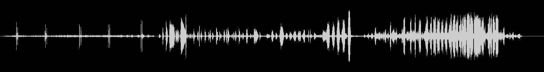 ジェイゲイグの未再生の波形