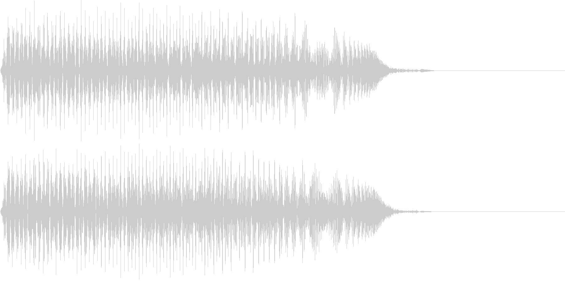 [効果音]ジャンプ、アイテム入手の未再生の波形