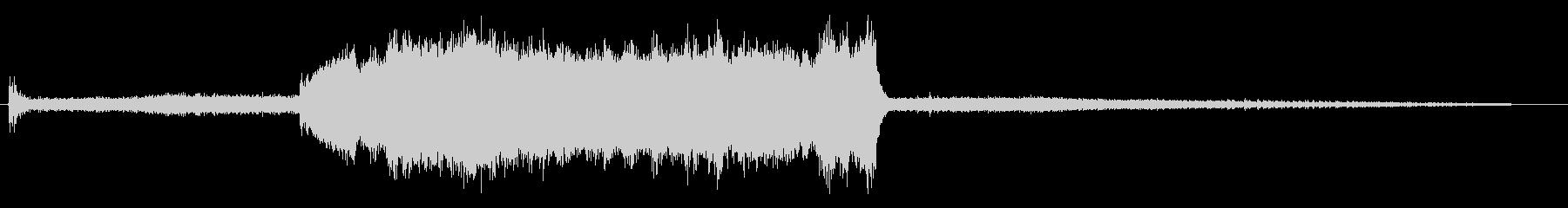 アングルグラインダー-研削金属(シ...の未再生の波形