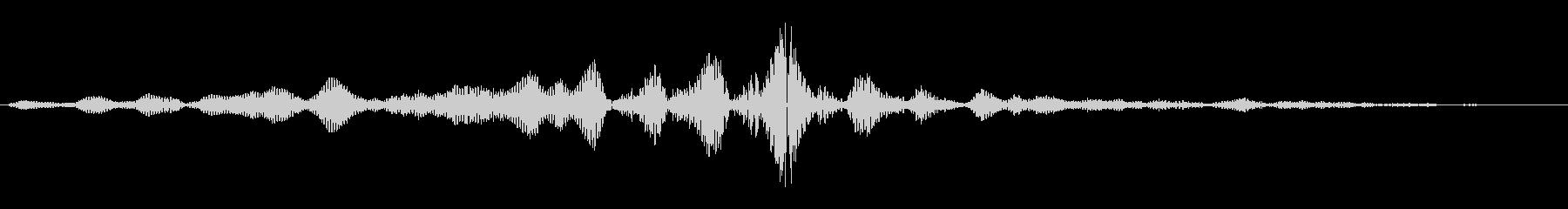 ビュイッ(通過音)短めの未再生の波形