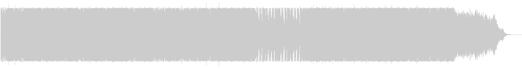BGM of exotic atmosphere's unreproduced waveform