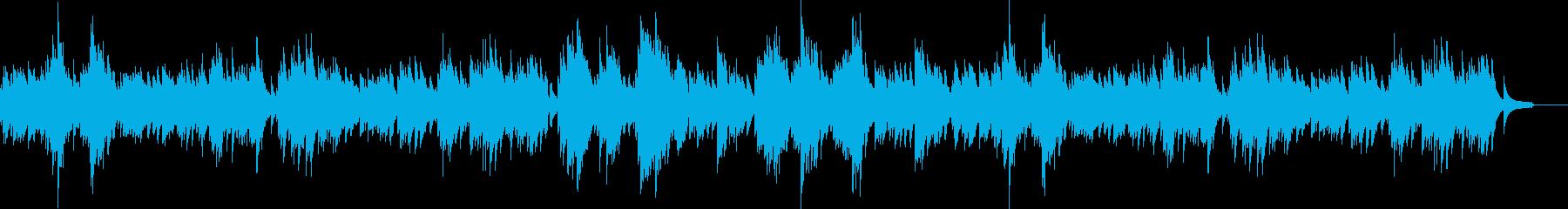 ソロピアノは「子供っぽいテーマ」で...の再生済みの波形