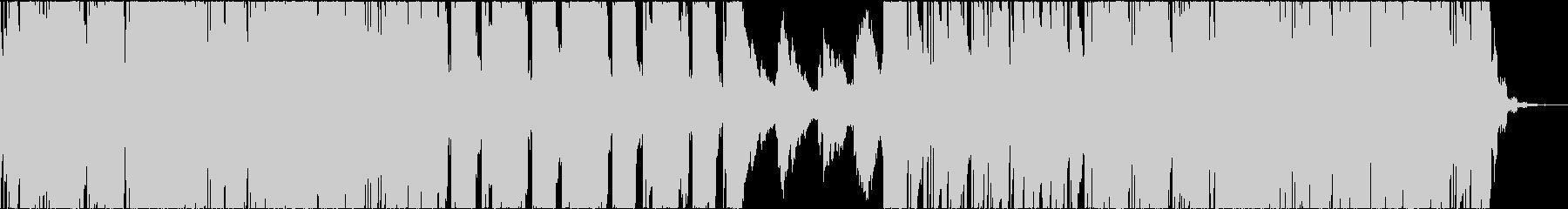ダブステップ アニメ バトル ピアノの未再生の波形