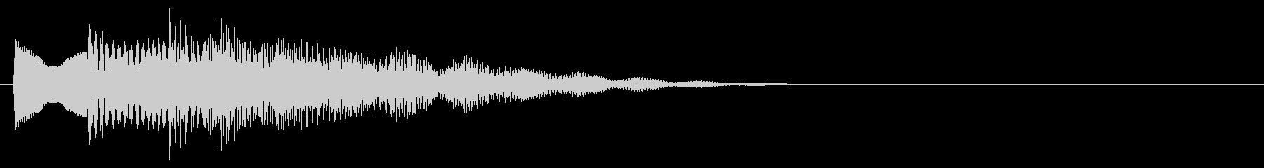 マレット系 決定音10(長三和音)の未再生の波形