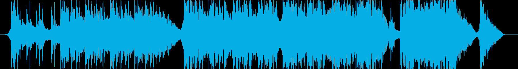 Cinematic Rock Musicの再生済みの波形
