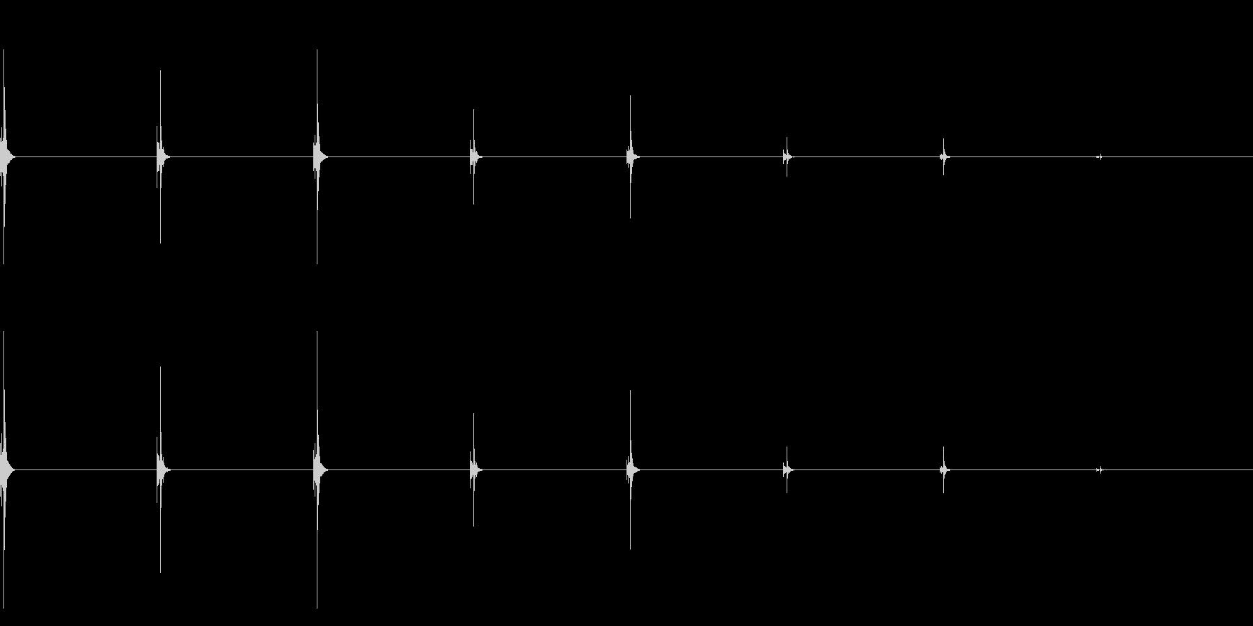 時計、タイマー、ストップウォッチ_C_5の未再生の波形
