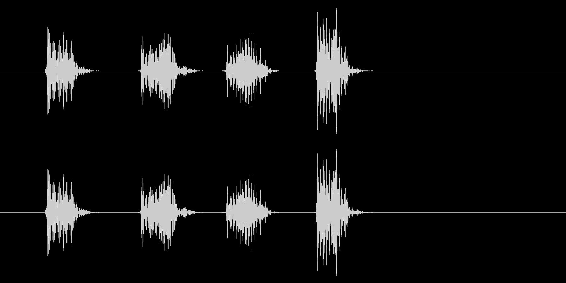 PC マウス02-19(スクロール 速)の未再生の波形