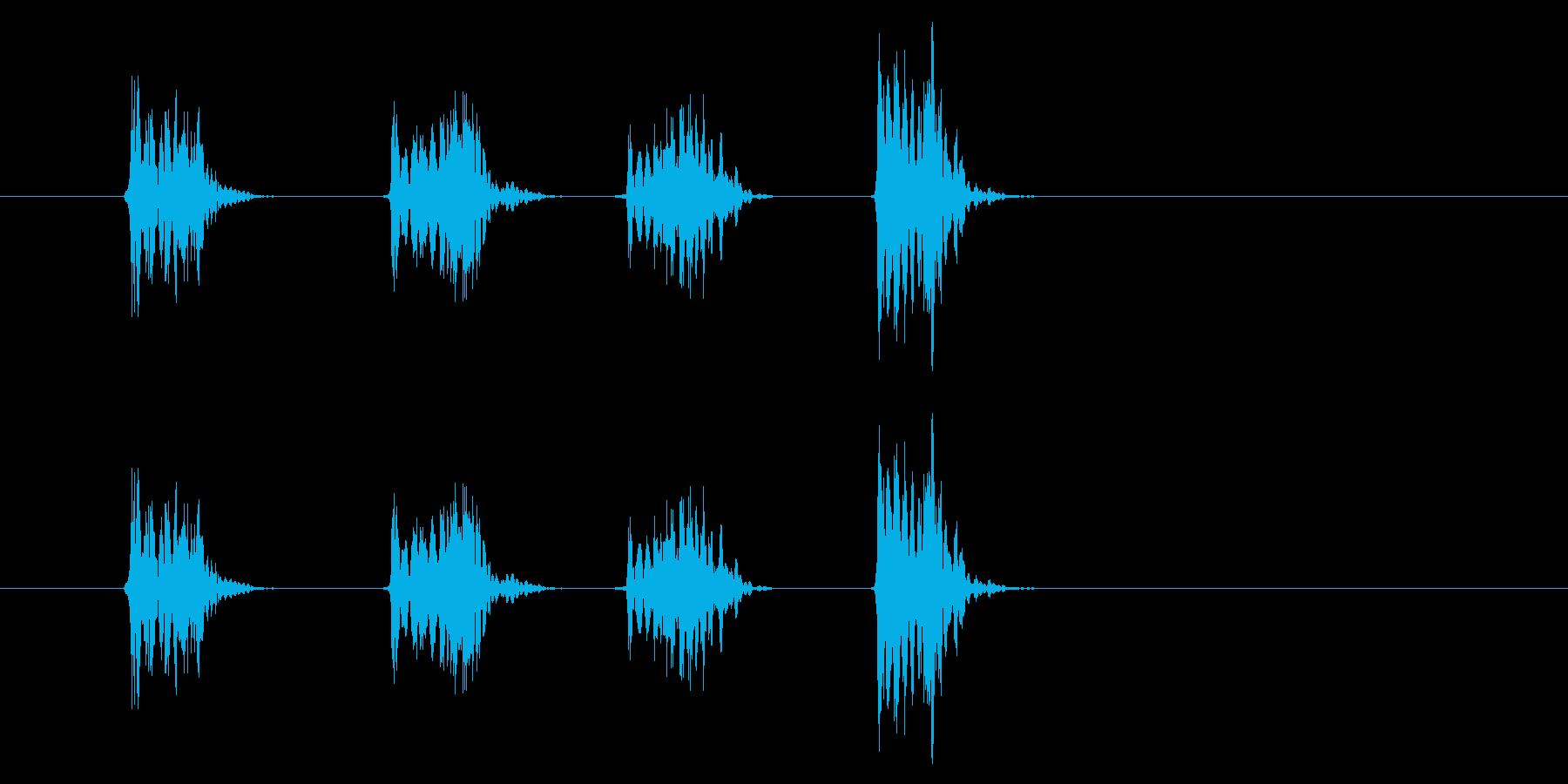 PC マウス02-19(スクロール 速)の再生済みの波形