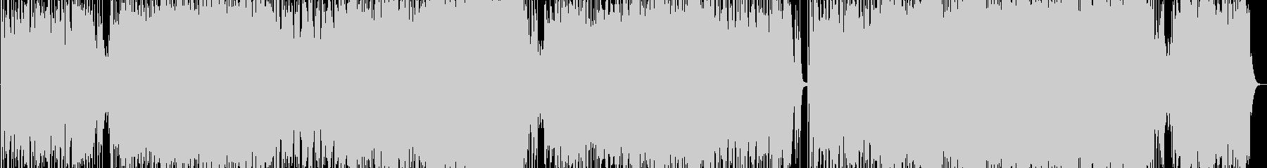 シューティングゲーム風ロックインスト曲の未再生の波形