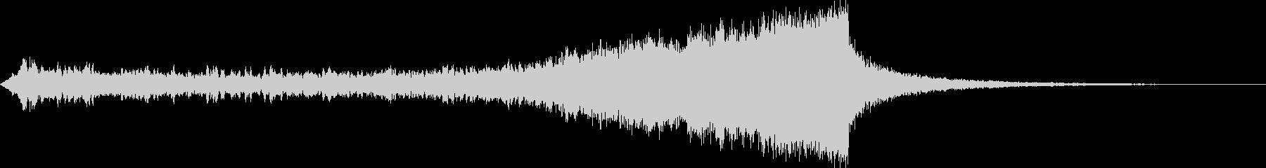 CINEMATIC RISER_26の未再生の波形