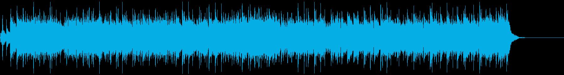 【30秒/メロなし】情熱大陸の様なBGMの再生済みの波形