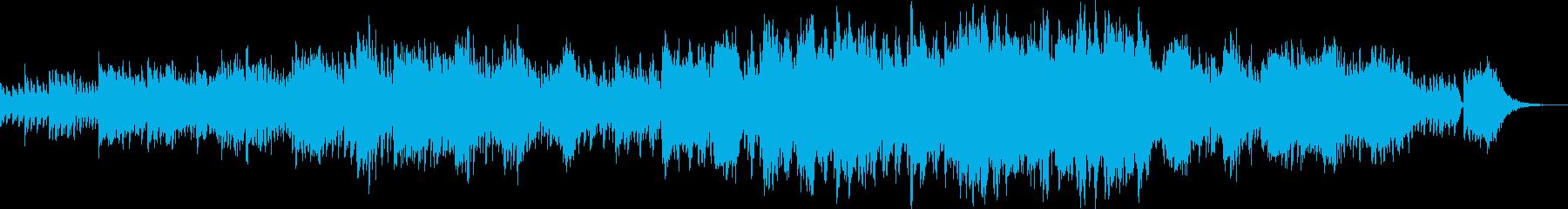 シンセと聖歌隊のオーケストレーショ...の再生済みの波形