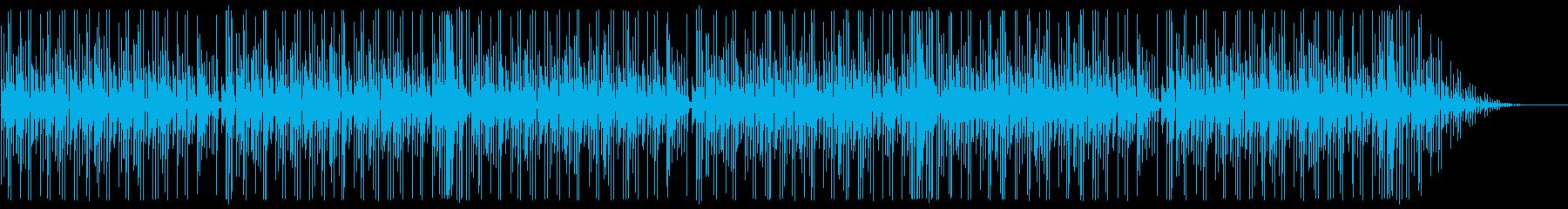 かわいいコミカル ほのぼの 間抜けの再生済みの波形