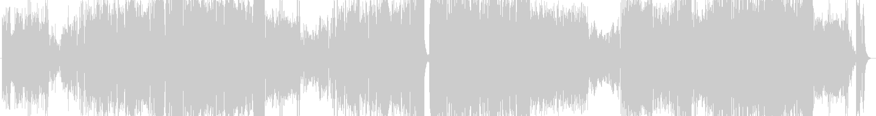 ポップロックアニソン系電脳ソングの未再生の波形