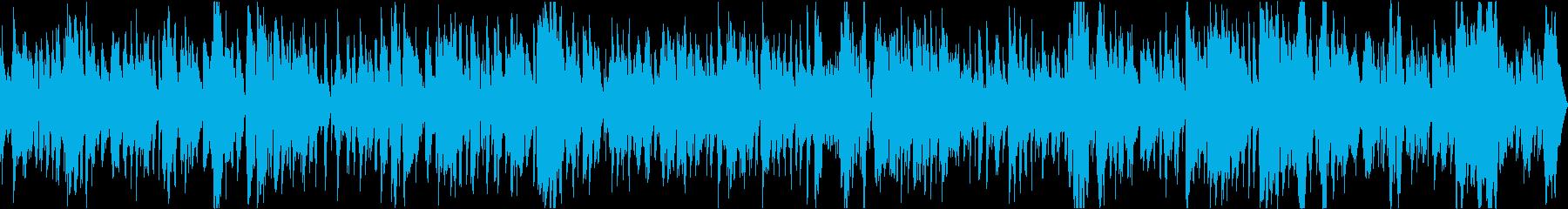 ムーディーなジャズトロンボーンの再生済みの波形