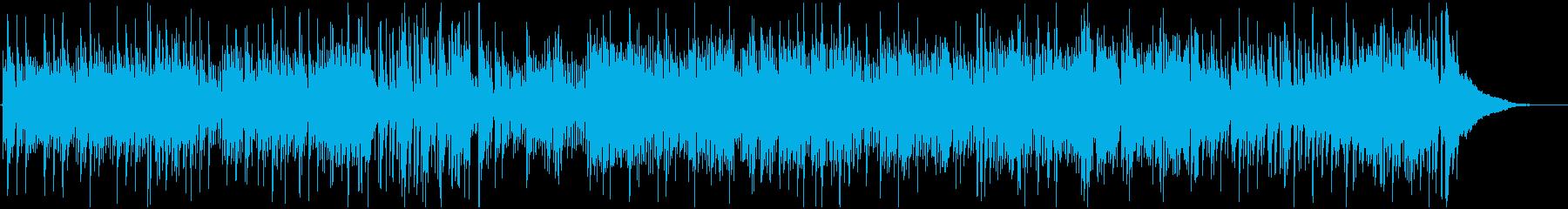 遊び心ある明るいジャズトリオの再生済みの波形