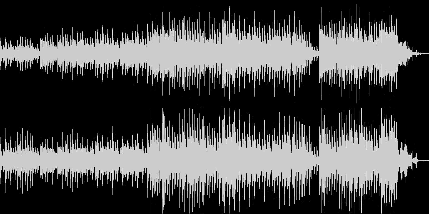 穏やかなピアノ曲1/OP・ED有の未再生の波形