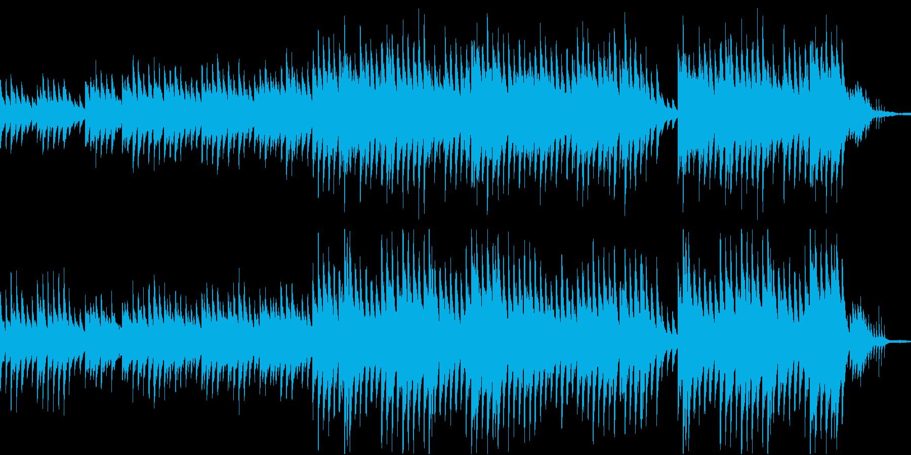 穏やかなピアノ曲1/OP・ED有の再生済みの波形