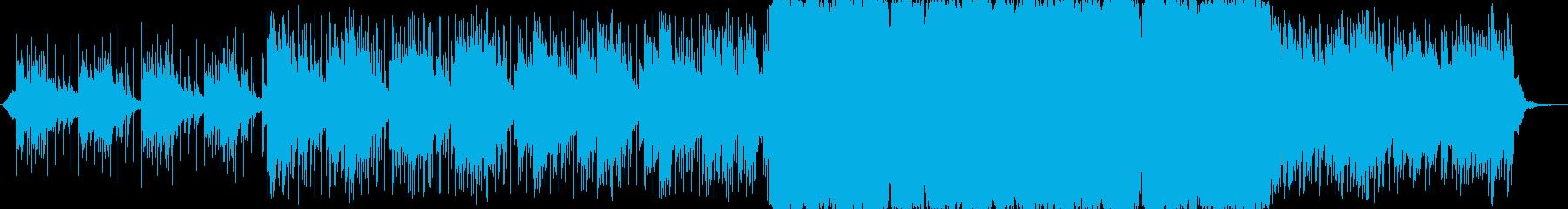 企業VPやCMに 壮大で美しい感動曲の再生済みの波形