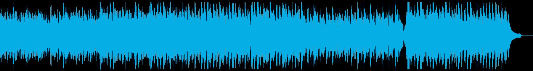 明るく現代的な箏&ピアノの再生済みの波形