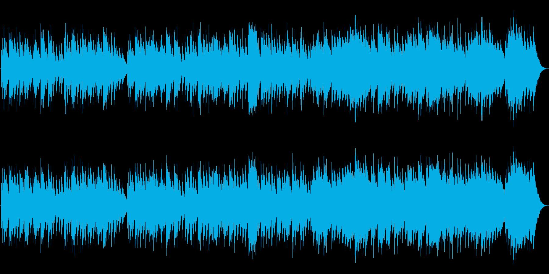 すやすや赤ちゃん☆優しい名曲オルゴールの再生済みの波形