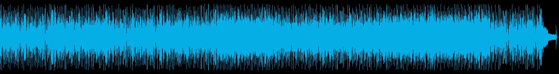 サックスがセクシーなアーバンフュージョンの再生済みの波形