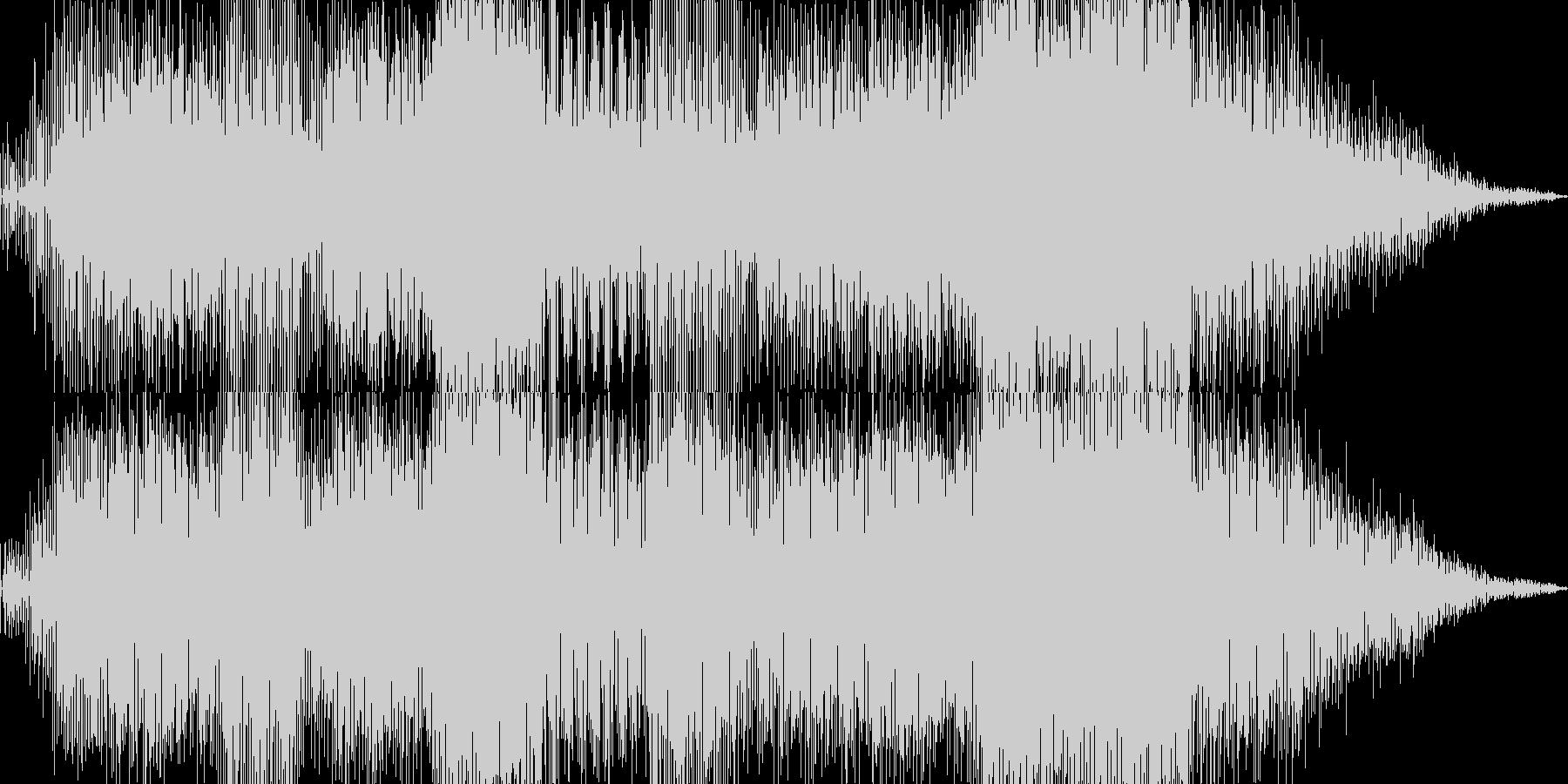 今回のテーマに沿う楽曲が手元にないので…の未再生の波形