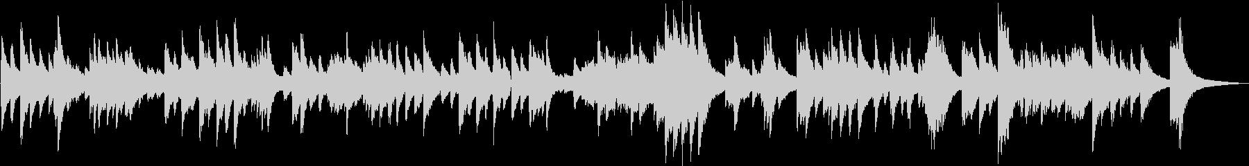 生演奏 ゆったりとしたピアノBGMの未再生の波形