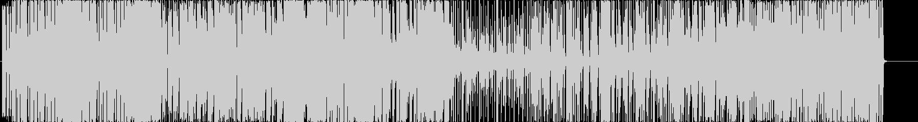 賑やかな雰囲気のキラキラファンクの未再生の波形