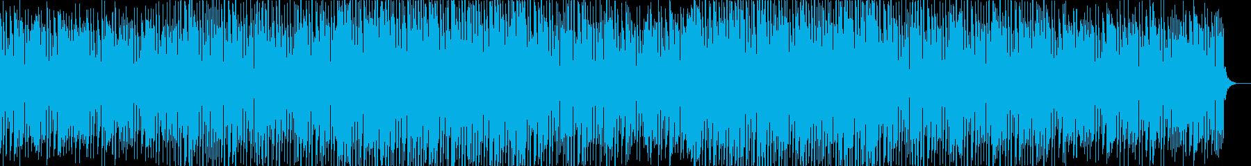 Lo-fiでミニマルVoxシンセが特徴的の再生済みの波形