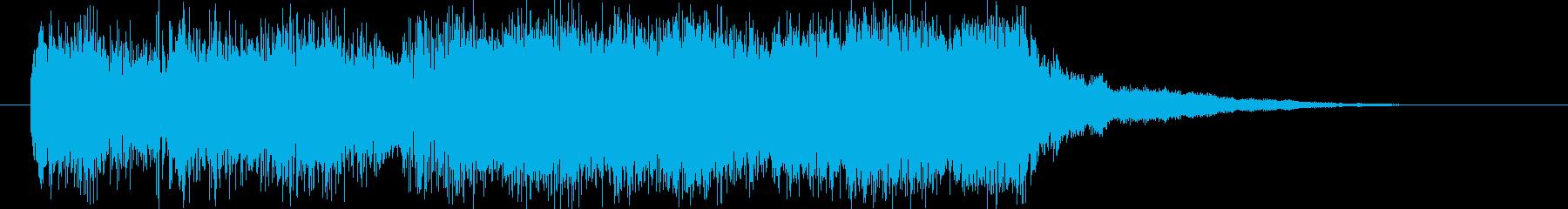 ジングル用。CM入りなどの再生済みの波形