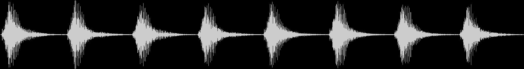 Cartoon アメコミ 煽り劇伴 4の未再生の波形