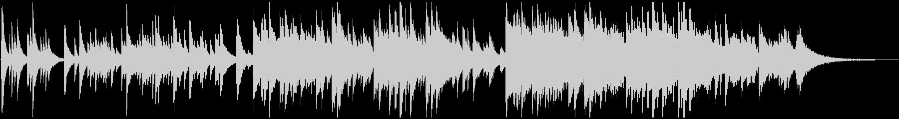 ピアノ・アコギ・チェロ 悲しいバラードの未再生の波形
