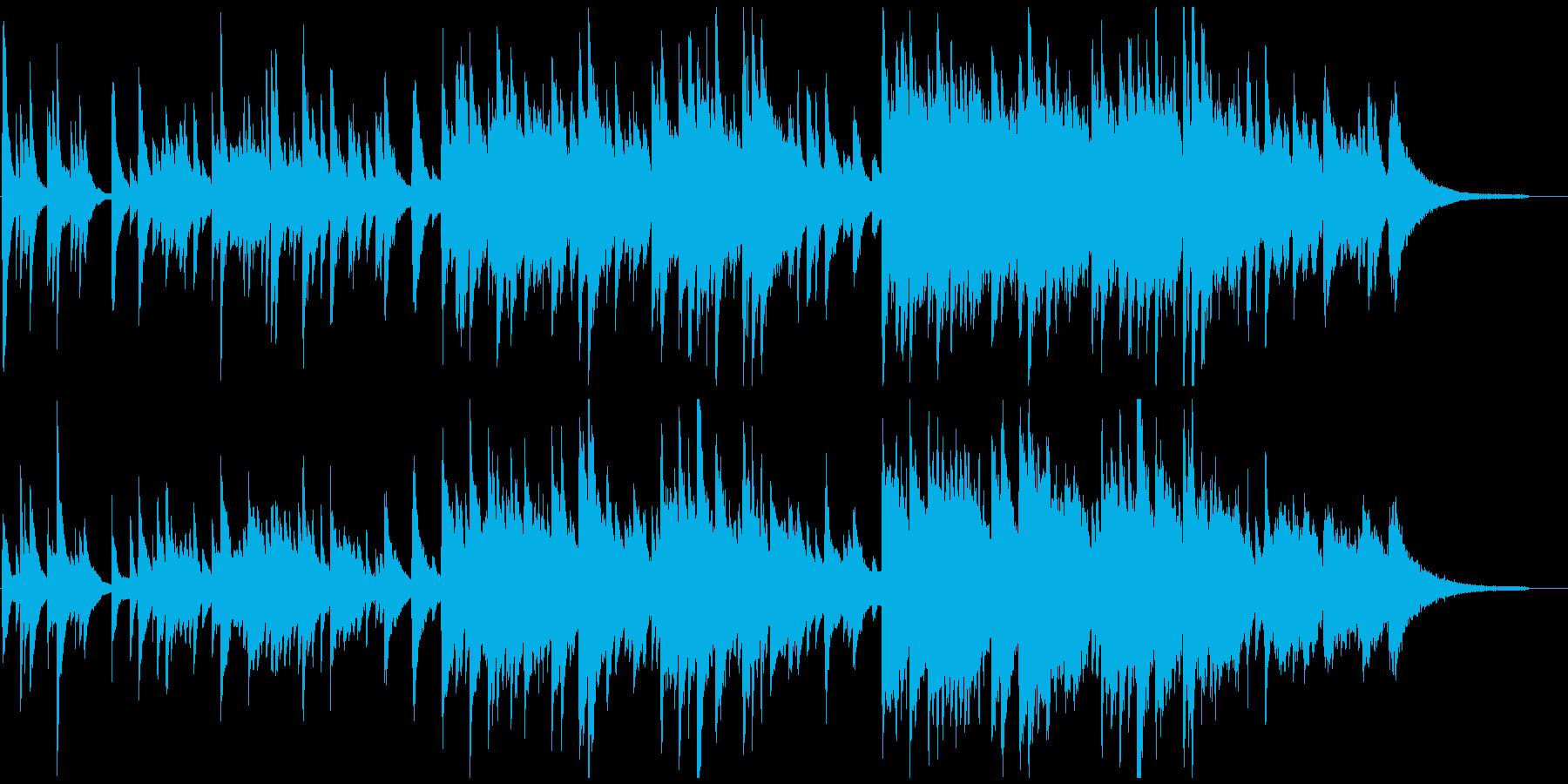 ピアノ・アコギ・チェロ 悲しいバラードの再生済みの波形