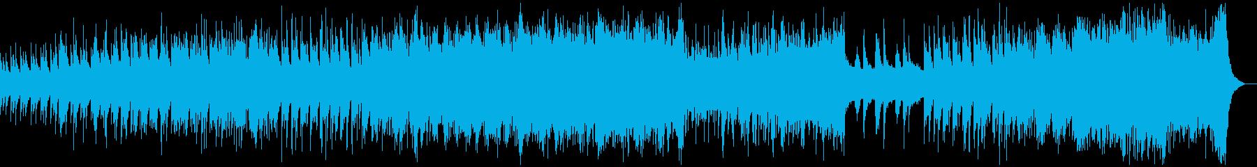 箏・雅楽・シンセによる厳かな天上の響きの再生済みの波形