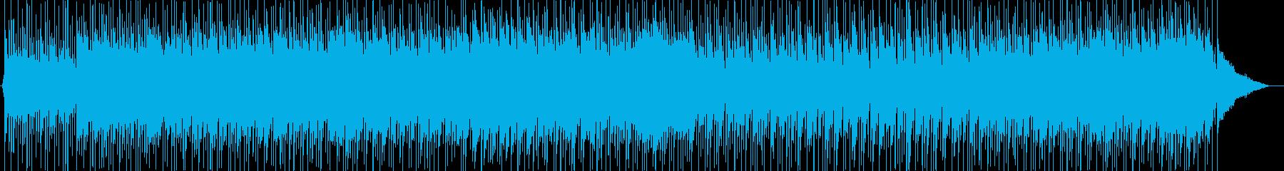 クラシックをアレンジしたルンバの再生済みの波形