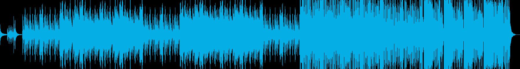正月に合う和風の曲の再生済みの波形