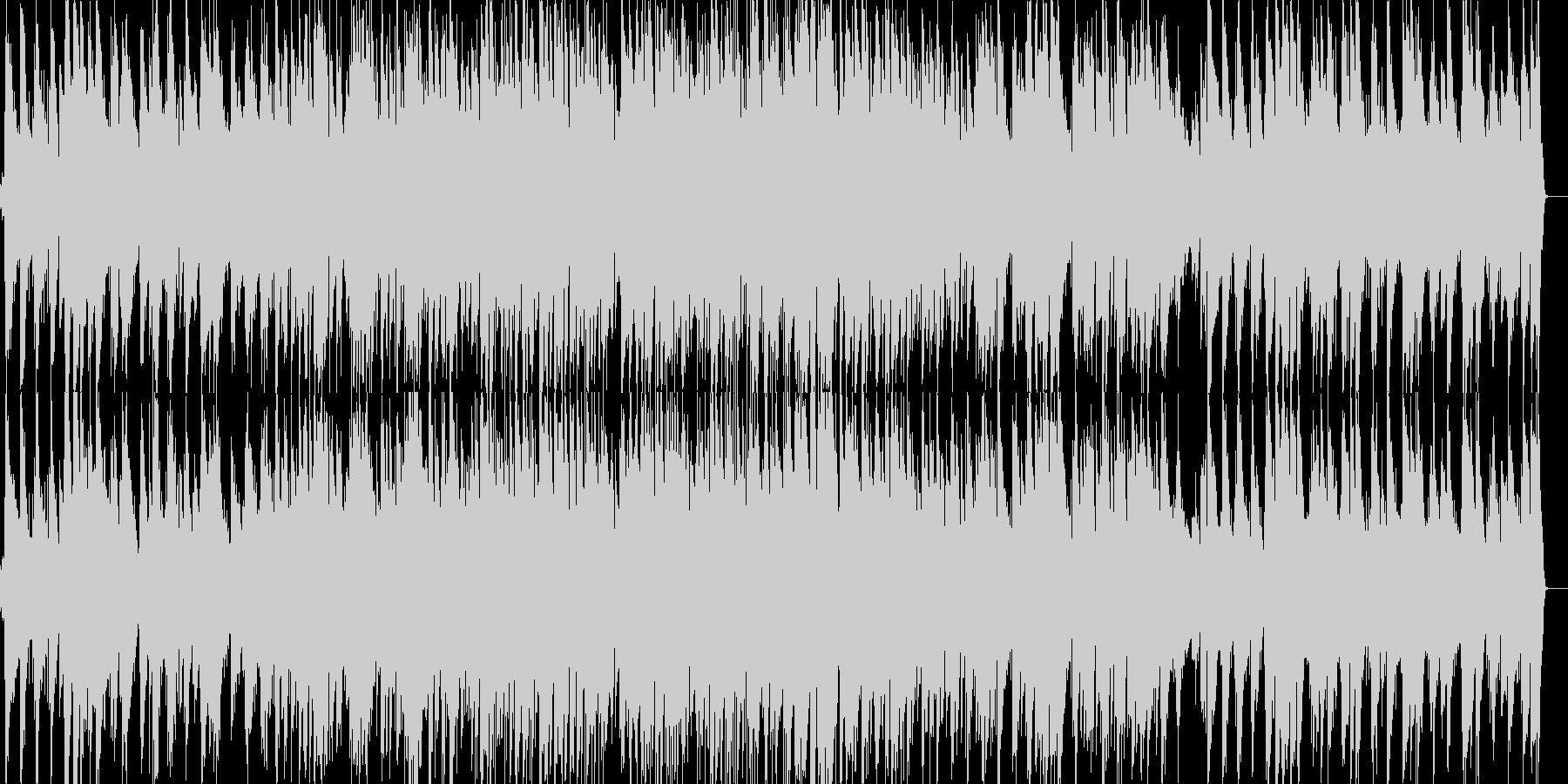 ベートーベンのジャズピアノの未再生の波形