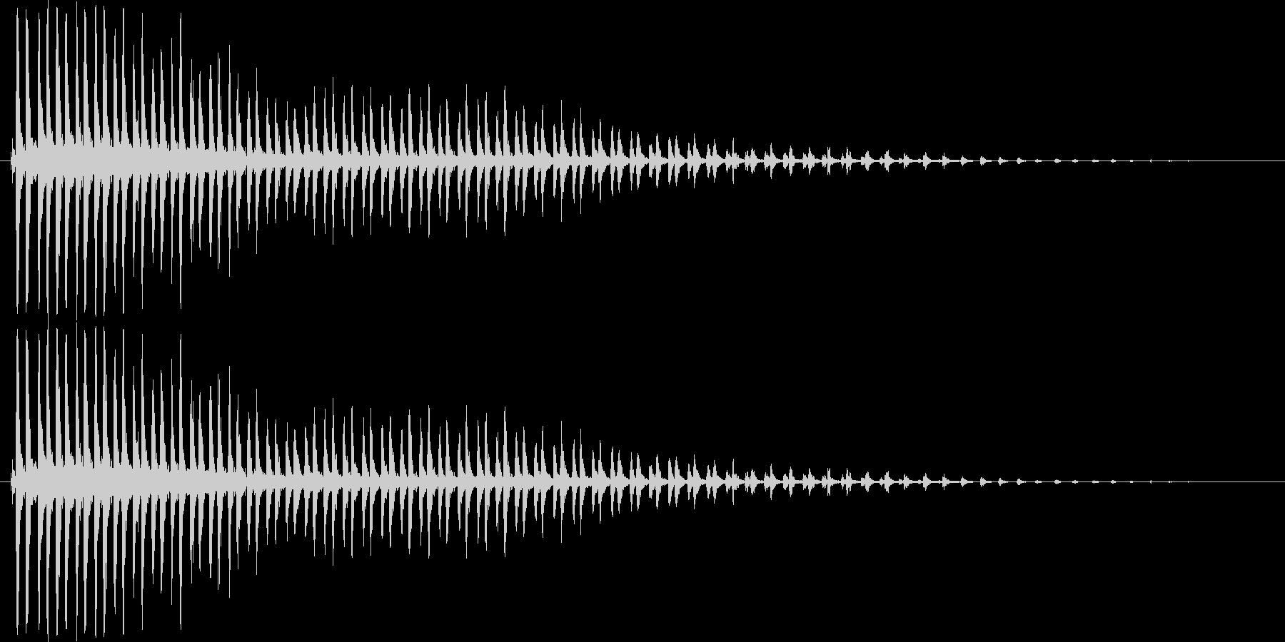 カーン_TVでよく使われる効果音の未再生の波形