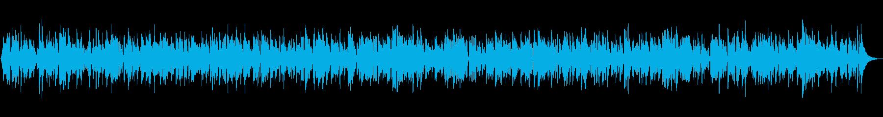 BARで聴くしっとり癒しのジャズバラードの再生済みの波形