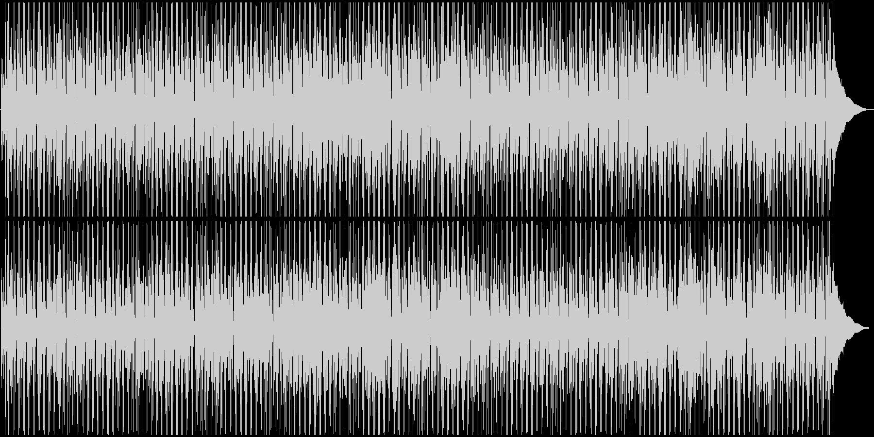 ボサノバ風・ほのぼのとしたBGMの未再生の波形