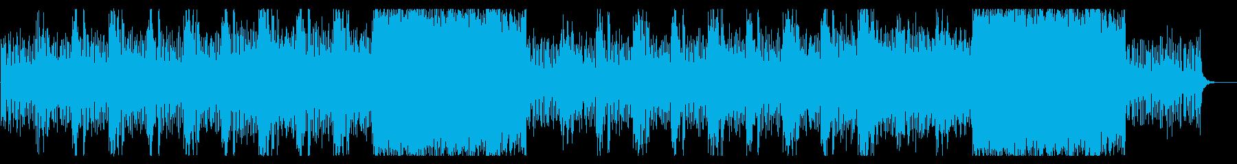 潜入・ダンジョン・戦闘系BGMの再生済みの波形