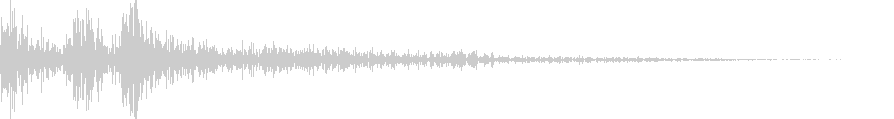 ジャジャン(三味線、三線、琵琶)の未再生の波形