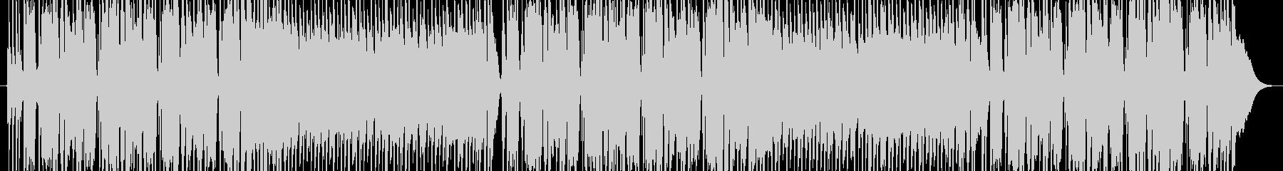 重くてゆったりとしたファンクロックの未再生の波形