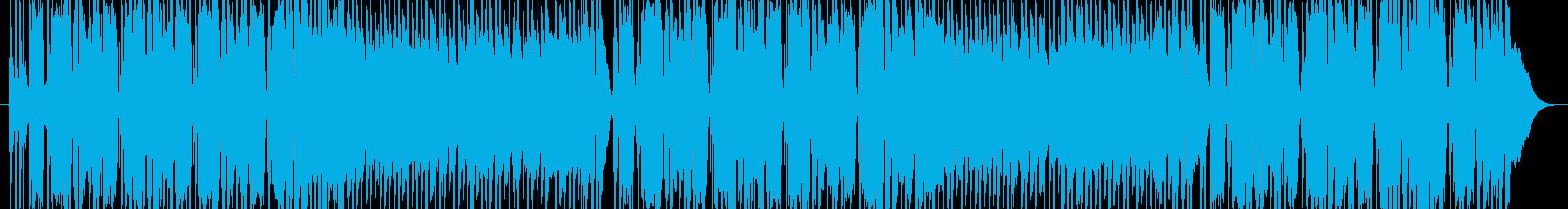 重くてゆったりとしたファンクロックの再生済みの波形