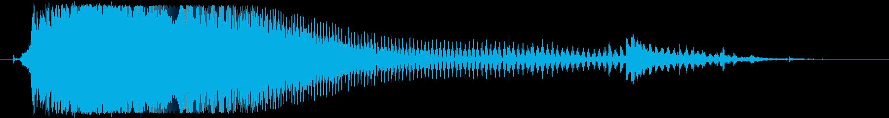 衝撃 スマッシュ23の再生済みの波形