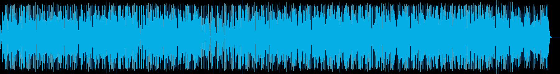 ほのぼの生アコメロのギターポップスの再生済みの波形